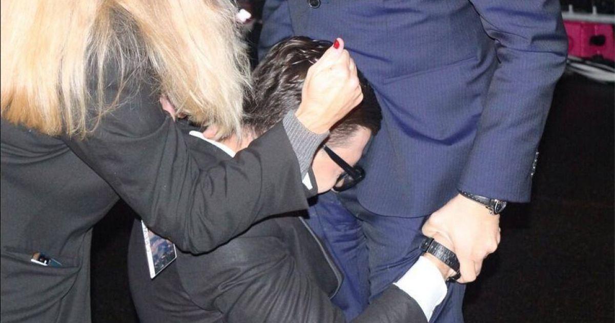 В прошлом году Седюк упал на колени перед ДиКаприо @ ТСН
