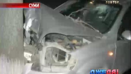 Пять человек пострадали из-за ДТП в Сумах