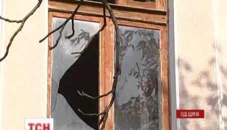 У місті Білгород-Дністровський під будівлею військкомату спрацював вибуховий пристрій