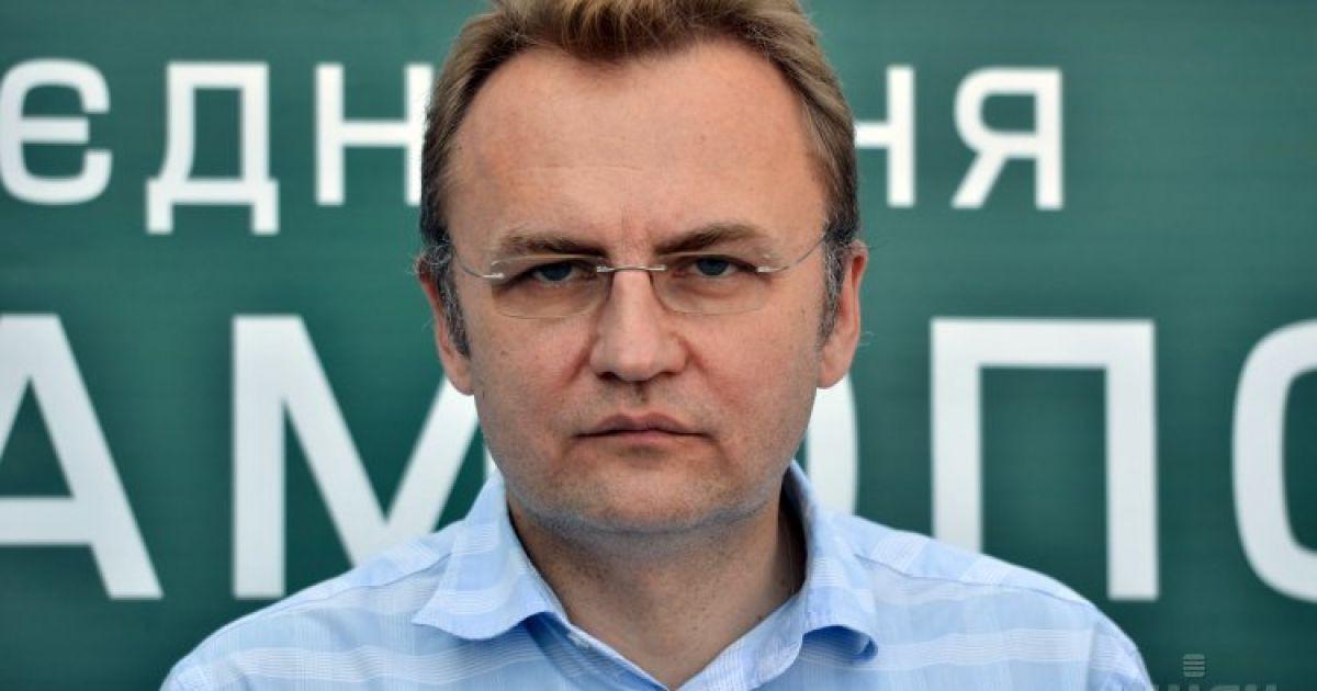 У будинок мера Львова Садового кинули гранату