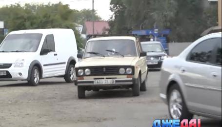 Джедаи попытались проверить дороги Ивано-Франковской области