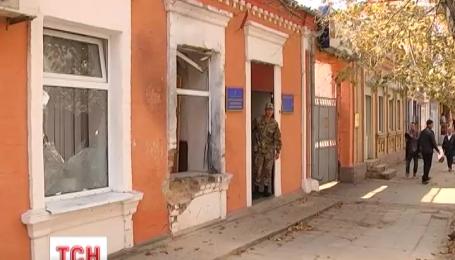 У Білгороді-Дністровському під будівлею армійської установи спрацював вибуховий пристрій