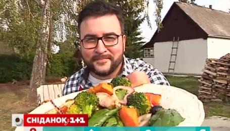 Салат с тыквой от Руслана Сеничкина