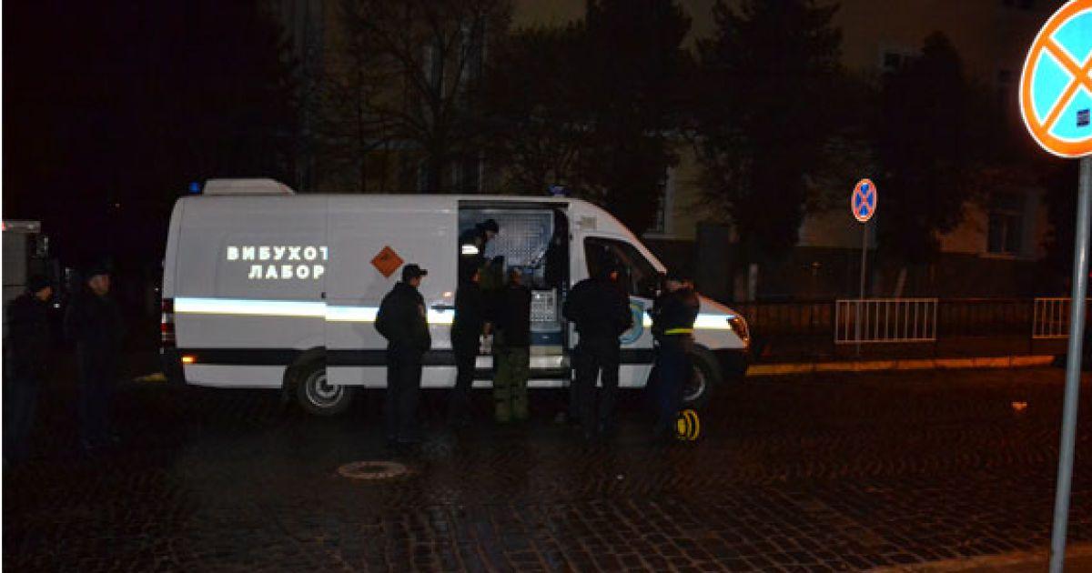 Ночью во Львове прогремел мощный взрыв @ mvs.gov.ua