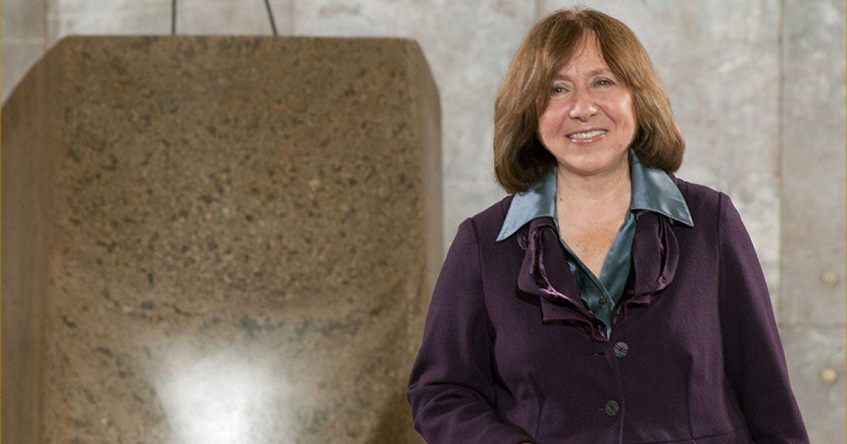 Белорусская писательница получила Нобелевскую премию
