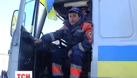 Из Харькова в Донецкую область отправился гуманитарный груз от правительства для переселенцев