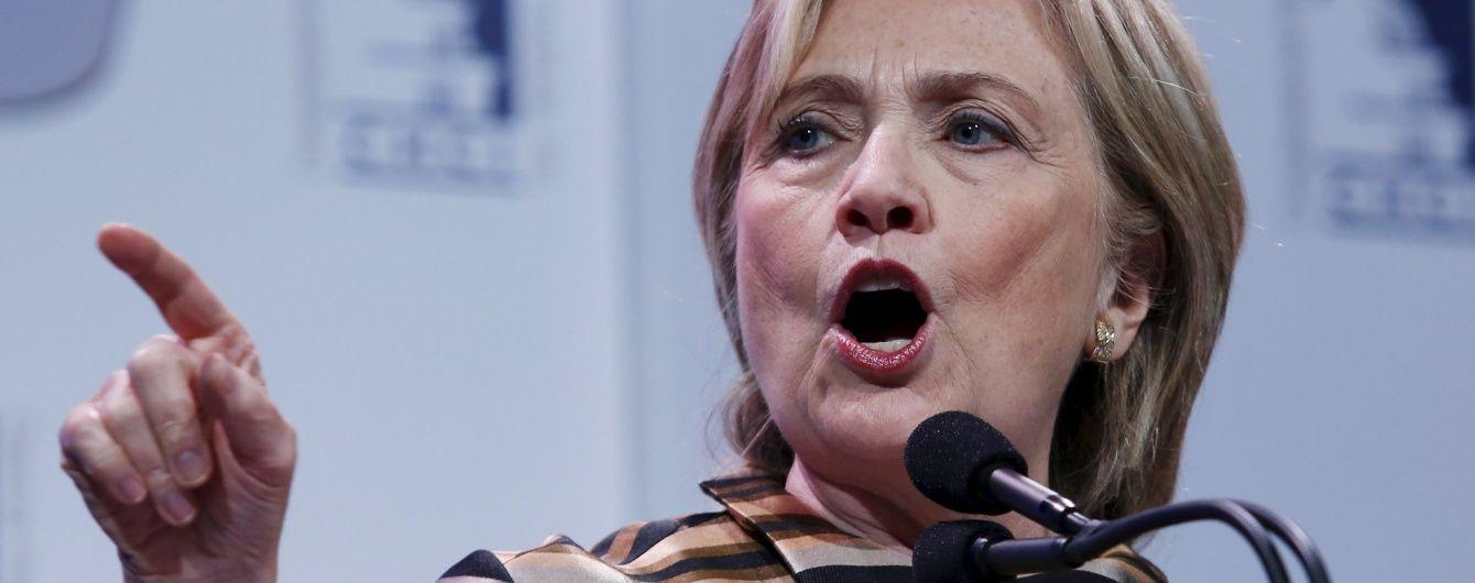 Клінтон заявила про підтримку НАТО у боротьбі з російською загрозою