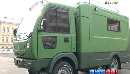 Львовский «Электрон» создал первый внедорожник в Украине