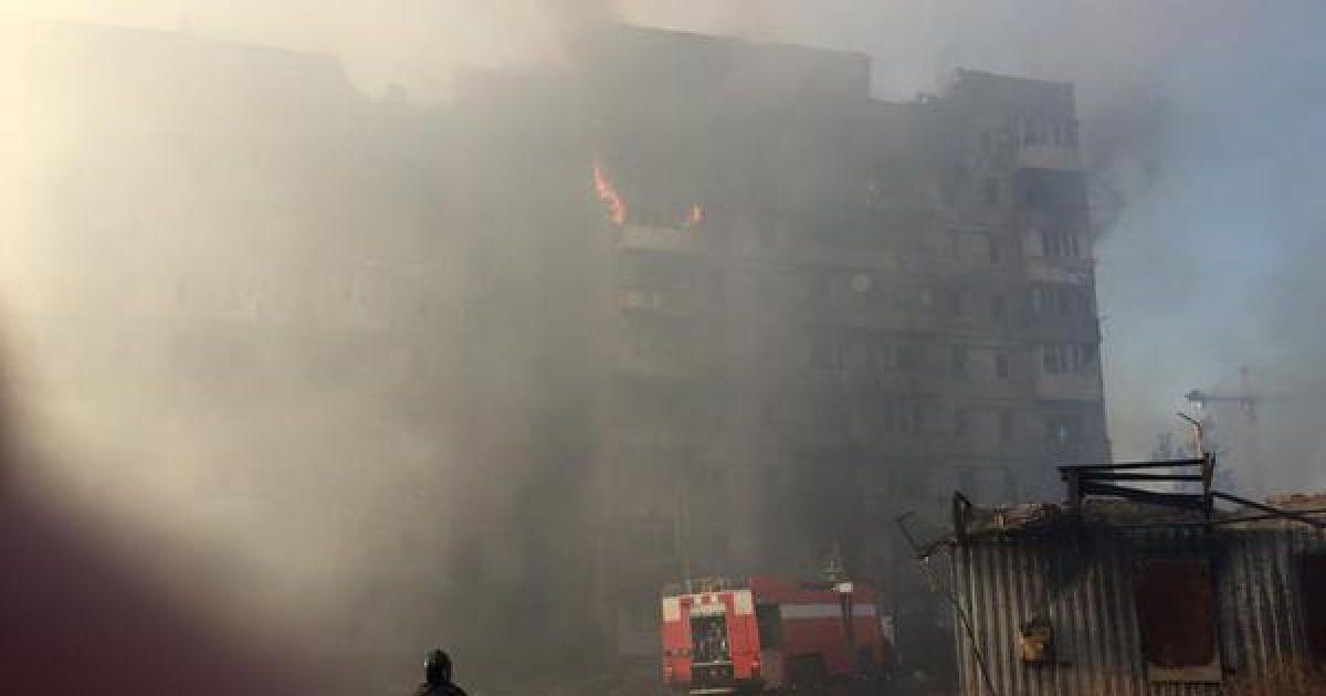 В Генштабе открещиваются от обстрела Донецка