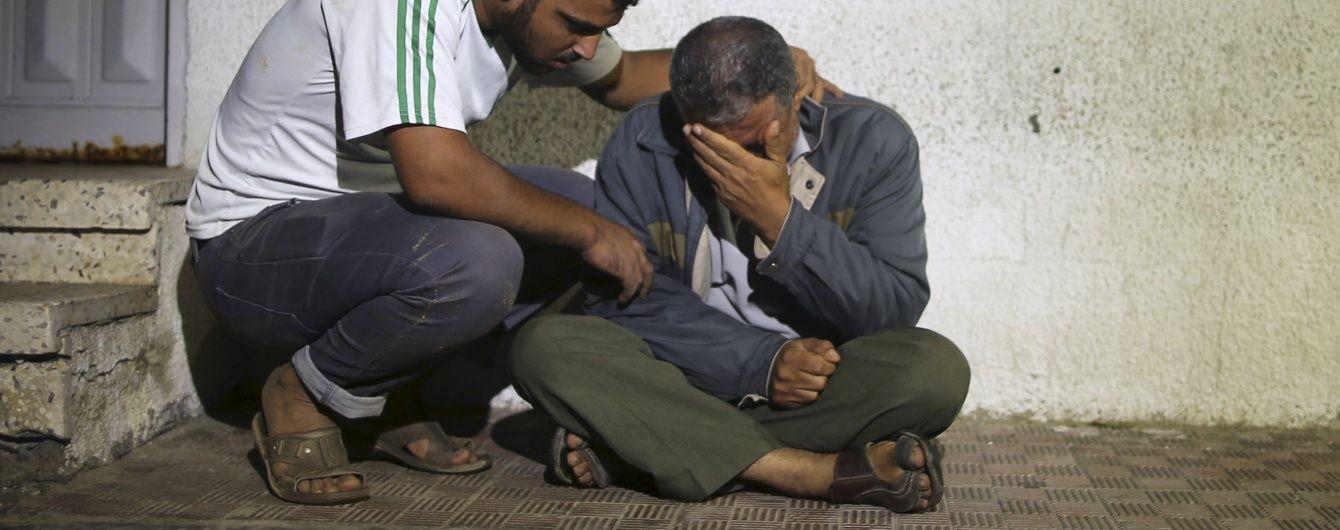 Сектор Газа: у новій атаці четверо осіб загинуло, 150 отримали поранення