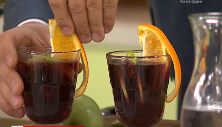 Рецепт безалкогольного глинтвейна от Руслана Сеничкина