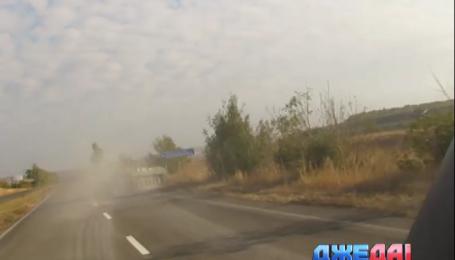 Очередное ДТП с участием украинских военных произошла в Мариуполе