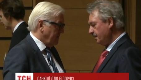 Європейські санкції проти Білорусі зняли на чотири місяці