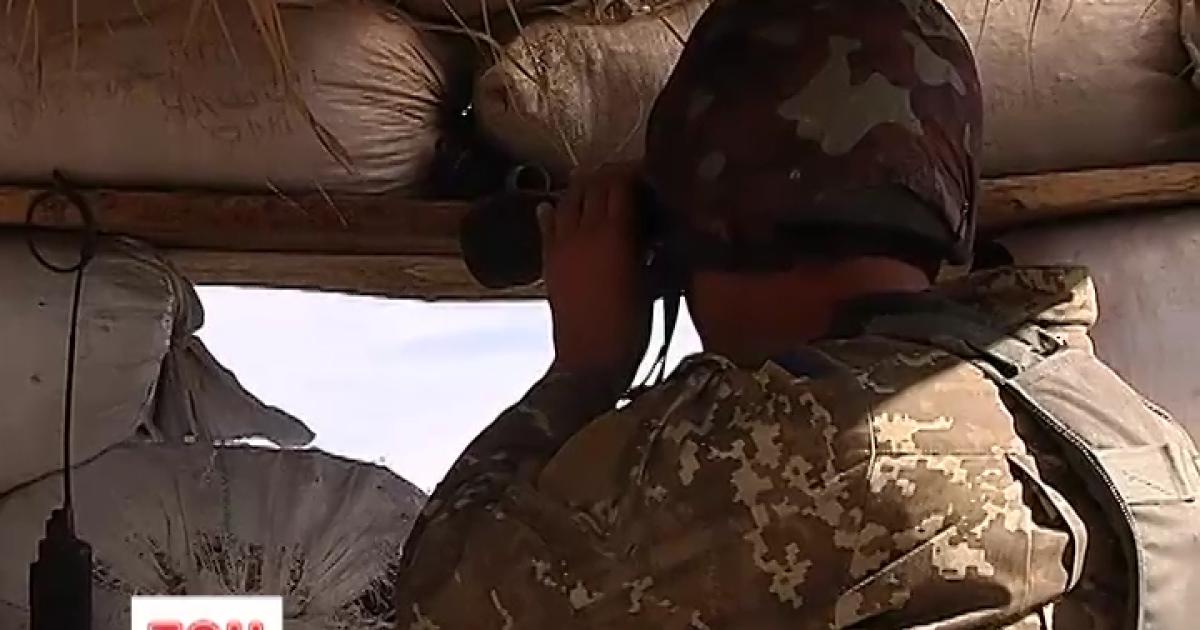 За минувшие сутки в зоне АТО погиб один военный