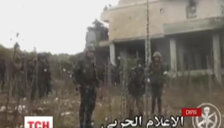 Американские войска доставили сирийским повстанцам оружие