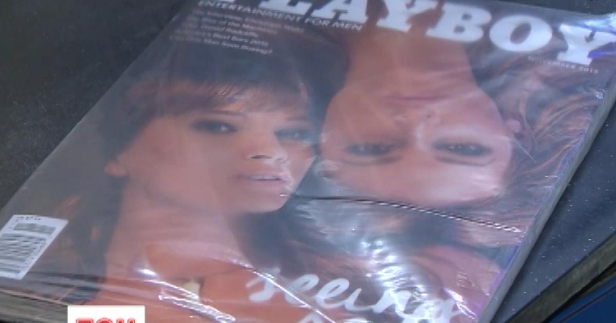 Смотреть девушки журнала плейбой, сексуальная тетушка совратила