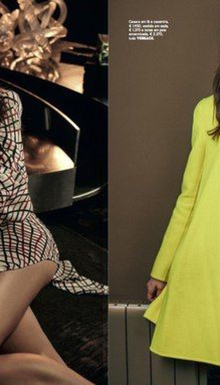 Сара Сампайо в фотосессии для Vogue Portugal
