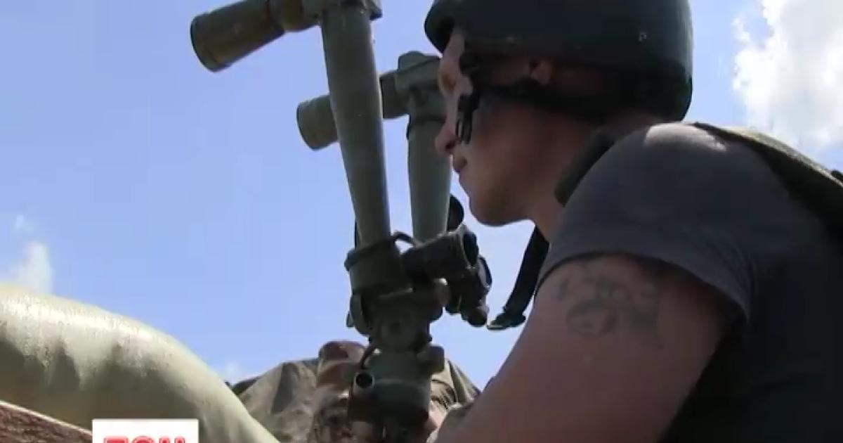 Боевики внезапно применили под Донецком минометы