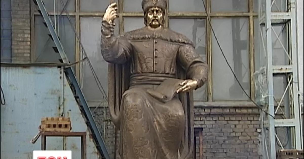 На Покрову в Полтаве установят памятник Мазепе