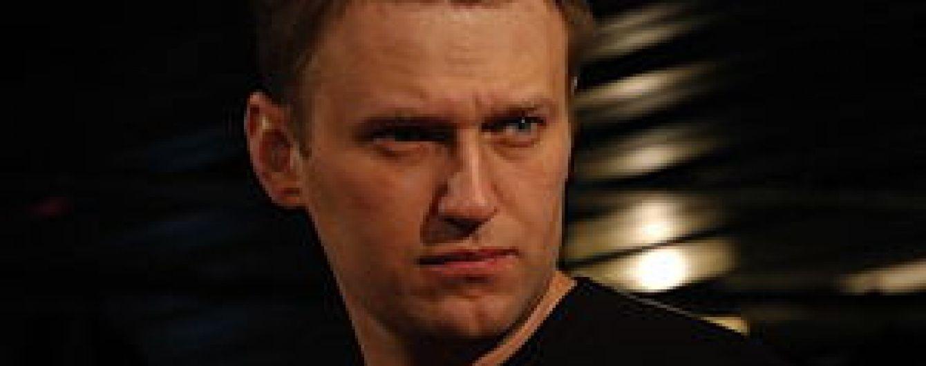 У Москві поліція на півгодини затримала Навального, а потім відпустила