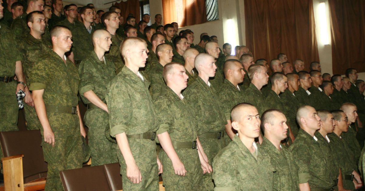 Российских контрактников, которые отказались ехать на Донбасс, посадили в колонию
