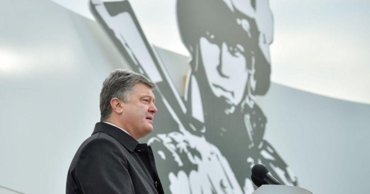 Порошенко рассказал, когда Украина получит военные радары США