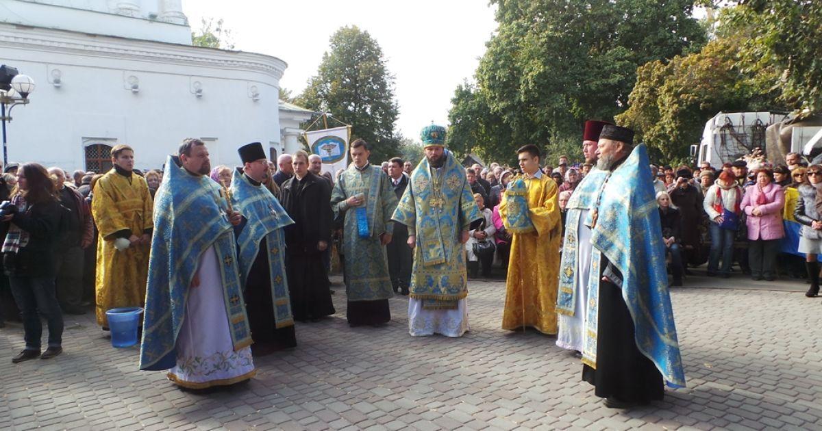 Під час презентації пам'ятника Мазепі в Полтаві @ Громадське ТБ. Полтава