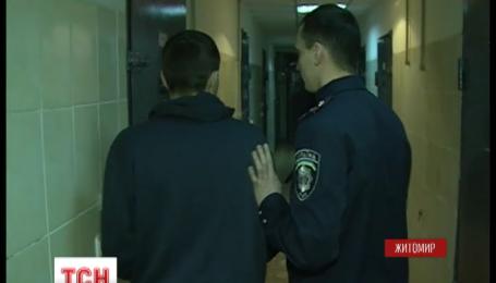 В Житомире задержали троих воров, на счету которых десятки ограбленных офисов