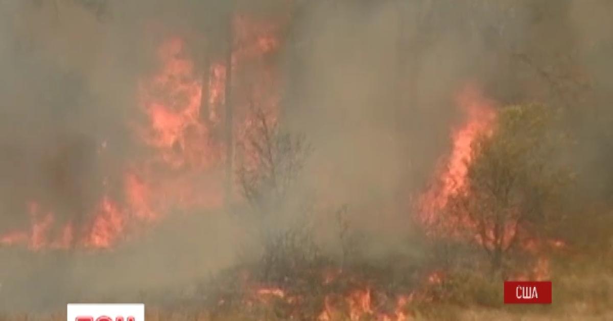 """Лесной пожар """"атакует"""" столицу штата Техас"""