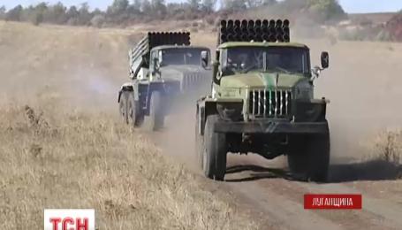 На Луганщине стартовала третья очередь отвода вооружения калибром до ста миллиметров