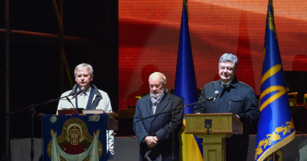 Одним из лучших доказательств успешности Могилянки являются выпускники - Порошенко