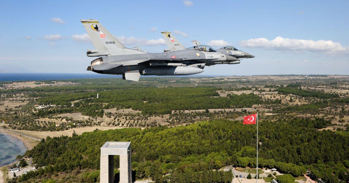 Турецькі військові знищили невідомий безпілотник