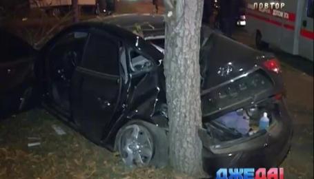 В столице из-за нетрезвого водителя произошла авария