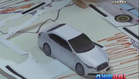 В Ирпене юные конструкторы из бумаги создавали шедевры украинского и мирового автопрома