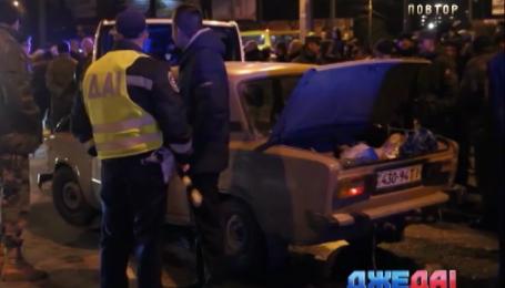 В Тернополе произошла авария с участием госслужащего