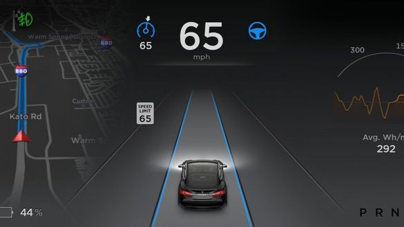 Tesla автопилот