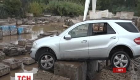 Проливные дожди затопили южную и центральную Италию