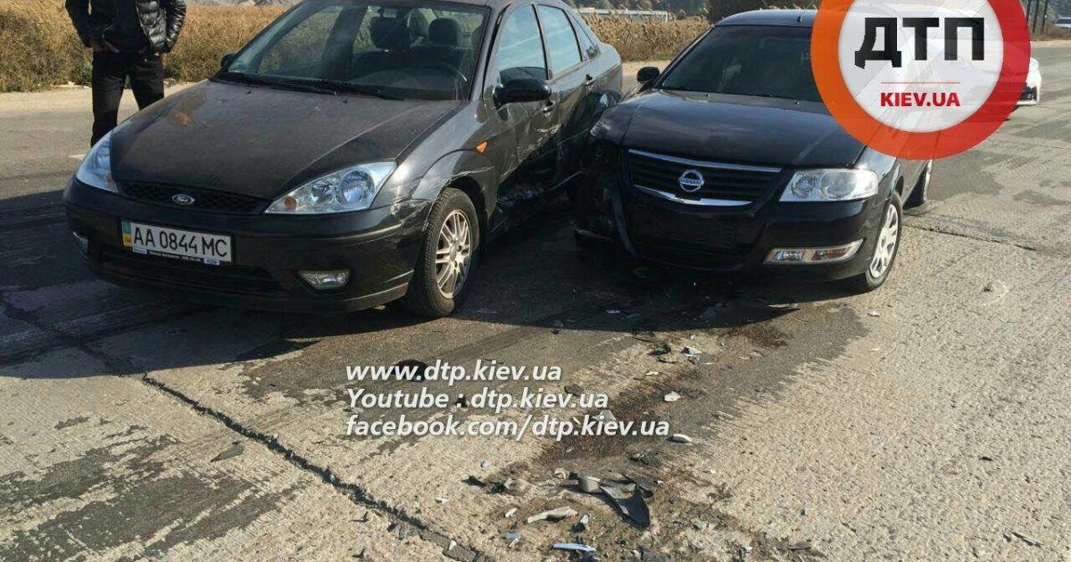 Машины получили разное количество повреждений, сколько пострадавших - неизвестно @ dtp.kiev.ua