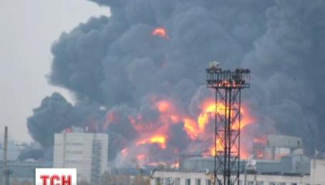 У Петербурзі сталася масштабна пожежа