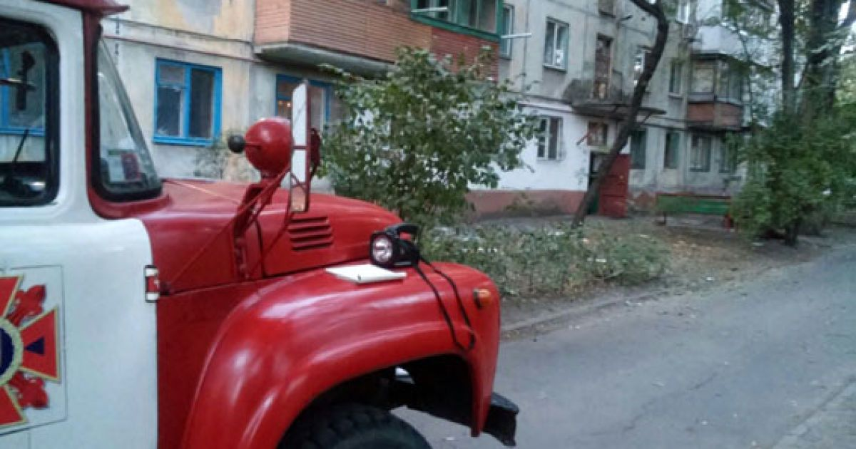 В Мариуполе неизвестные обстреляли дом @ МВД Донецкой области
