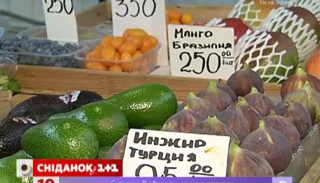 Овочі та фрукти подорожчали
