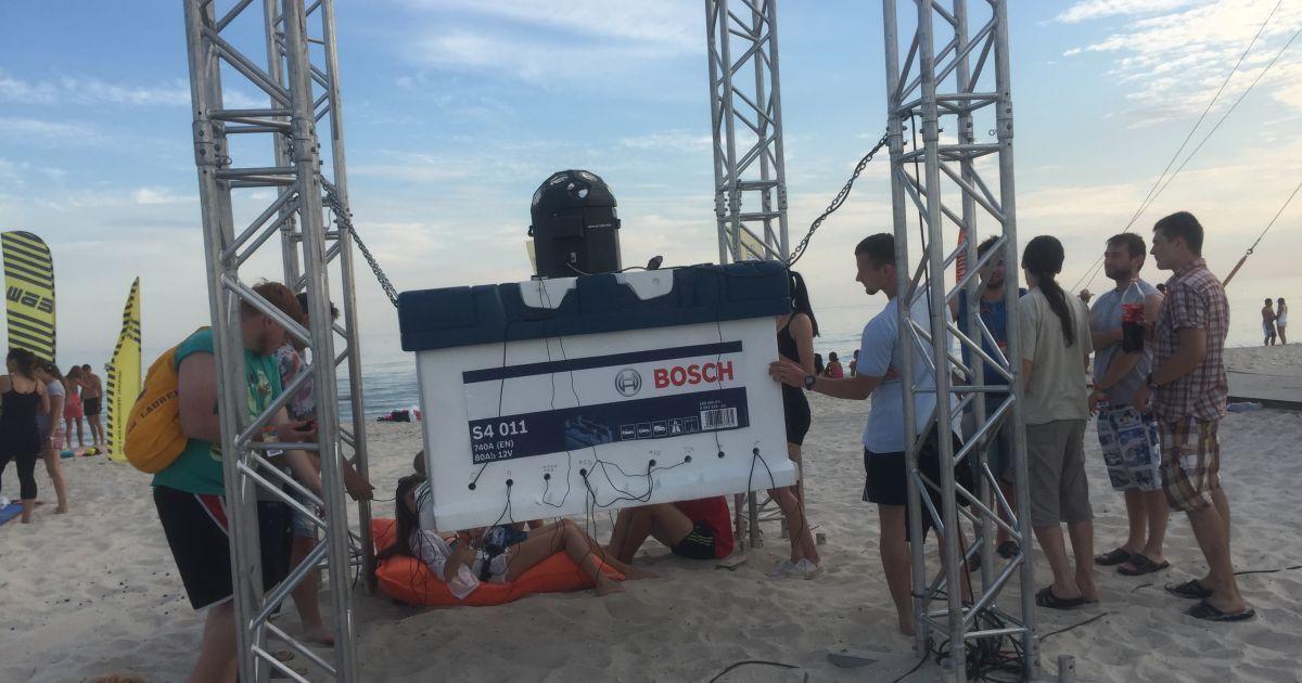 ТМ Bosch - партнер Всеукраинского фестиваля спорта и музыки
