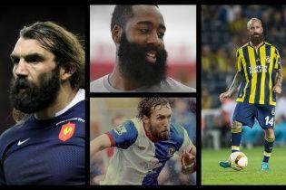 Як би виглядали відомі бородаті спортсмени без бороди ІІ