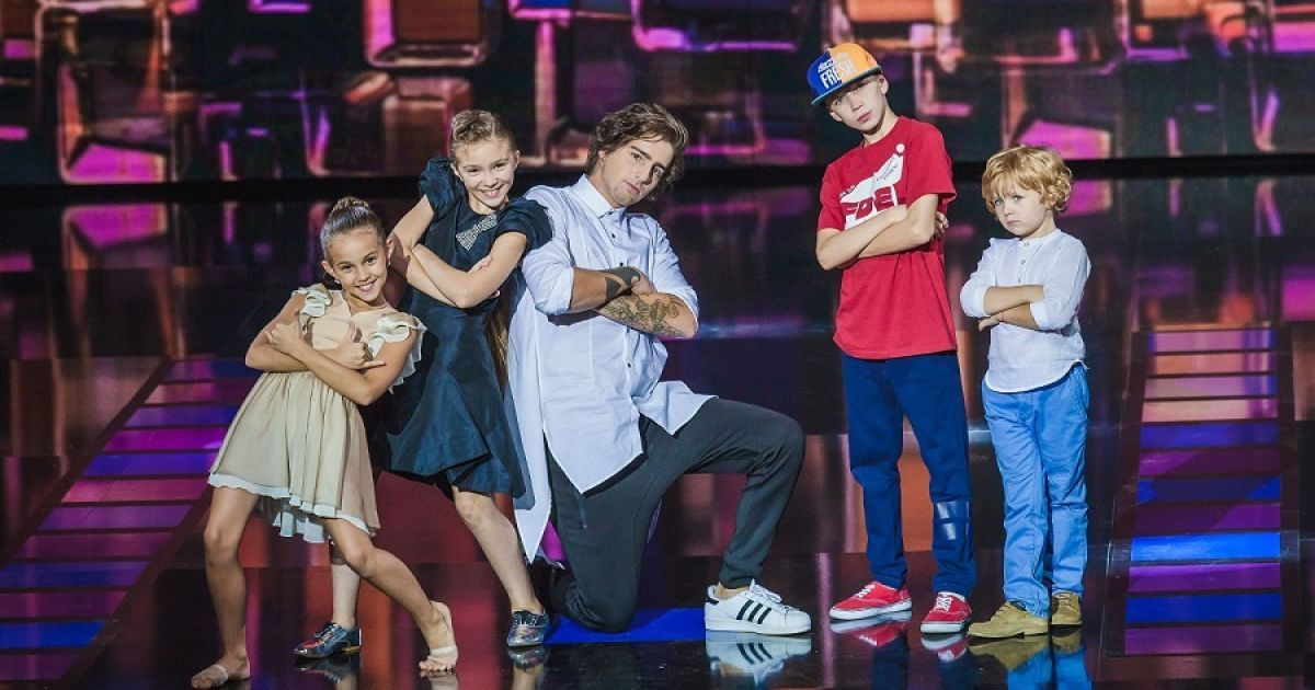 """Команда Дантеса победила в шоу """"Маленькі гіганти"""" @ пресс-служба канала """"1+1"""""""