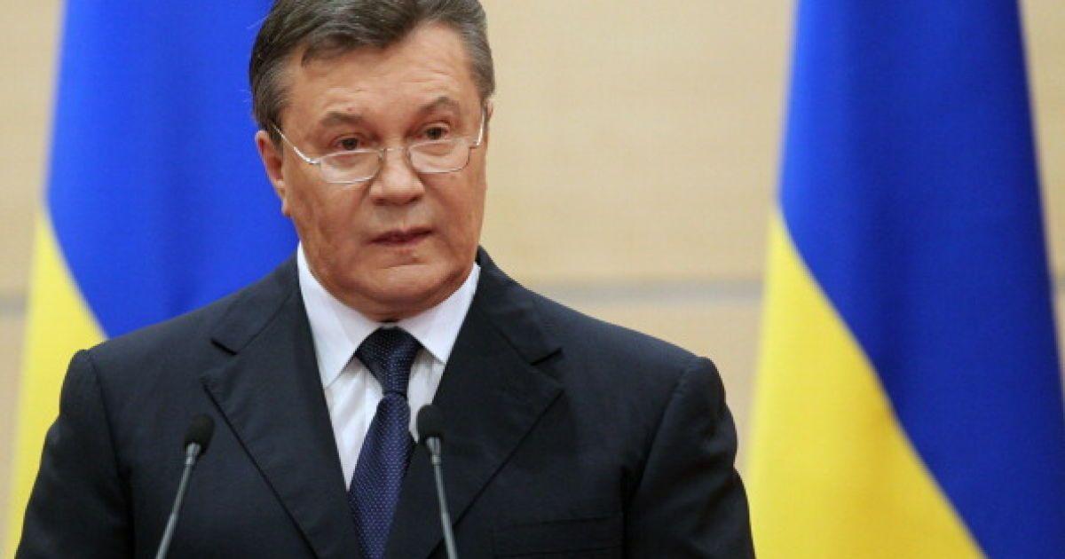 Янукович пожаловался Европейскому суду на Украину