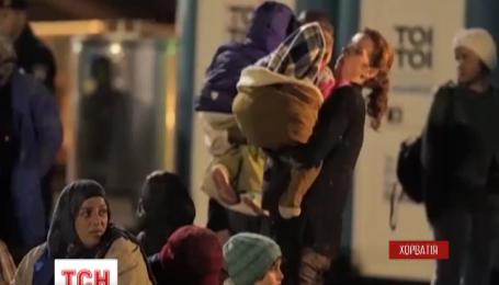 Хорватия и Словения открыли границы для мигрантов, которые направляются в западную Европу