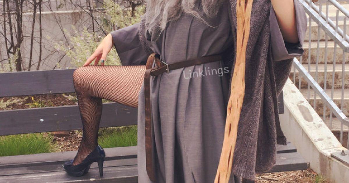 """Сексуальна """"Гендальф"""" підірвала Мережу @ linklings.tumblr.com"""