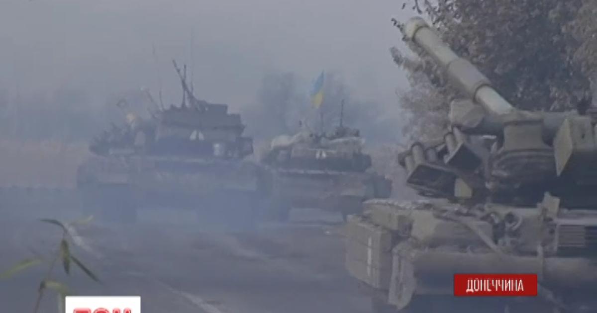 Отведенные от Дебальцево и Попасной танки ждет еще одна тайная передислокация