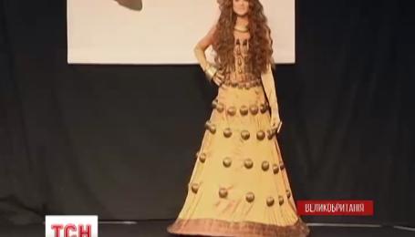 Сукні із шоколаду представили на модному шоу в Лондоні