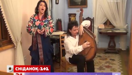 В гостях у «Сніданку з 1+1» музиканти Роман Гриньків і Лариса Дедюх